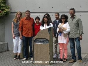 Counter-Balance Park Dedication